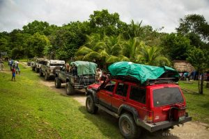 Saving Infinity - Jungle expedition transport